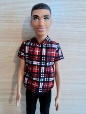 Barbie / Ken  Fashionistas Plaid on Point . Black American Doll