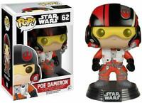 Funko Pop! Star Wars #6222 The Force Awakens Poe Dameron Action Figure #62 NEW!!