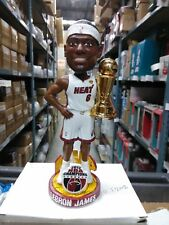 LeBron James Miami Heat 2012 NBA Finals MVP Bobble Miami Heat Bobblehead