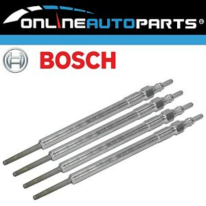 Set of 4 Bosch Glow Plugs suits Holden Astra AH 1.9L Z19DTH4 Diesel Engine 06~09