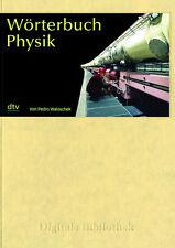 Dictionary Physics 5.500 Technical Terms Pedro Waloschek Digital Library 141