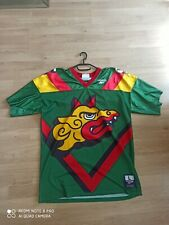 Maillot NFL world league football dragons Barcelona 95 Reebok taille L vintage