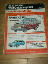 REVUE TECHNIQUE AUTOMOBILE n°457 VOLKSWAGEN PASSAT SANTANA CITROËN CX 2400 2500