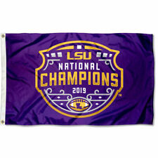 Louisiana State LSU Tigers CFP National Championship 3x5 Flag