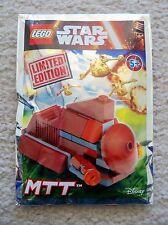 LEGO Star Wars - Super Rare 911616 MTT Foil Pack Set - Limited Edition