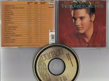 ELVIS PRESLEY The Number On Hits Commemorative Issue 1987 USA CD  RCA 6382-2-R