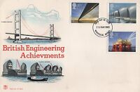 1983 BRITISH ENGINEERING ACHIEVEMENTS FIRST DAY COVER - WINDSOR BERKS
