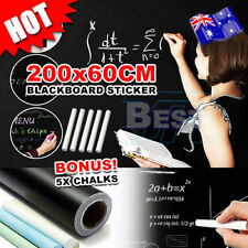60×200cm Blackboard Sticker Removable Vinyl Decal Wall ChalkBoard Labels
