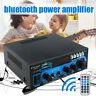 Digital Mini 2CH Power Amplifier BT Audio Receiver AMP FM Radio Home Car 30W+30W