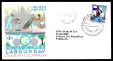 Dutch Antilles - 1960 Labour Day -  Mi. 109 addressed FDC (E15)-1