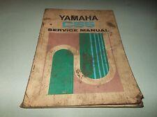OEM Yamaha CS5 Service Manual Book 1972