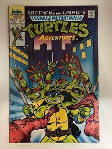 Teenage Mutant Ninja Turtles Adventures #23. 1st Slash