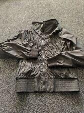 Bench Black Lightweight Zipped Jacket Size Large