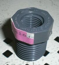 """1/2"""" x 1/4"""" Threaded Bushing Schedule 80 PVC Spears or Lasco 839-072 SCH SCHED"""