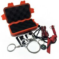 SOS Survival Kit Camping First Aid Rescue Emergency Set