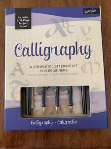 Walter Foster Calligraphy Complete Lettering Kit for Beginners New!