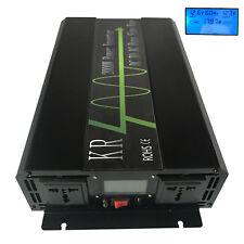2000W Pure Sine Wave Power Inverter 12V/24V/48V to 110V/220V for Car/Home Solar