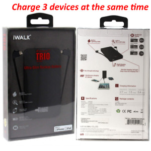 iWALK (1517) UBO6000-001A iWalk Extreme TRIO 6000 mAh Ultra-Slim Backup Battery