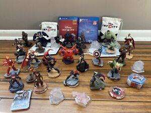 Disney Infinity Lot - Disney Infinity PS4 Games 2.0 & 3.0, 32 Figures, Play Disc