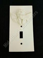 New 3D Ceramic Cherub Angel Switch Plate Light Switch Cover Single