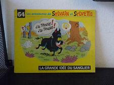 JAN24 ---- SYLVAIN SYLVETTE format à l'italienne  n° 64