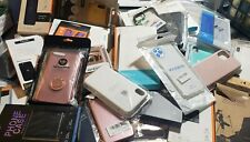 Bulk Wholesale Lot of 100 Mixed Phone Cases (heavy on iPhone samsung) &more