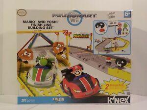 KNEX Mario Kart Wii Mario & Yoshi Finish Line Set