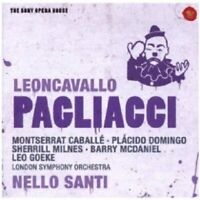DOMINGO & CABALLÉ - I PAGLIACCI (DER BAJAZZO)-SONY OPERA HOUSE  CD NEUF