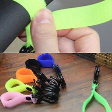 Nylon Portable Hanging Strap Plastic Holder Hooks Accessories New Baby Stroller