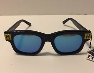 House of Holland Blockhead Sunglasses Navy