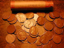1946-S LINCOLN WHEAT CENT PENNY ROLL, nice condition