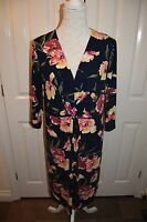 Nice Floral pattern large print dress for summer. size 18. NWOT
