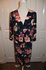 Nice Floral pattern large print dress for summer. size 18. NWOT