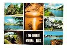 Cumbria - Lake District National Park - Multiview Postcard Franked 1985