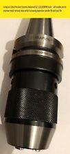 BT40 16mm Ultra Precision integral keyless drill chuck Balanced G2,5 20,000 RPM