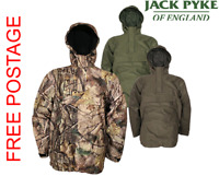 JACK PYKE GALBRAITH SMOCK ALL COLOURS WATERPROOF HUNTING SHOOTING FISHING JACKET
