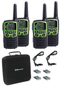 Midland 4Er Kit de Maleta XT-30 Pmr Conjunto Equipos Radio Baterías Ctcss Call