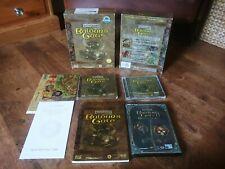 Rare - Big Box Version - Baldurs Gate Pc Game + 2 & DVD Rom Version