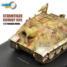 DRAGON STURMTIGER GERMANY 1945 1/72 tank model finished non diecast