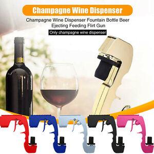 Bubbly Blaster Champagne Gun Dispenser Pourer Stopper Sprayer for Party 5 Colors