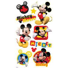 DISNEY MICKEY MOUSE PUFFY Dimensional Stickers EK Success DMFPF stars icon