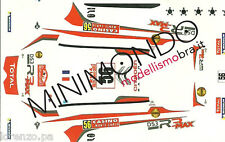 DECAL CITROEN DS3 R3T RALLY MONTECARLO 2014 CHARDONNET 1/43 MODELS 43