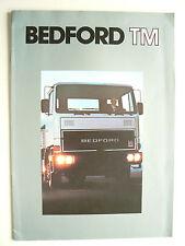 Catalogue  Camion BEDFORD TM  non daté   brochure prospectus