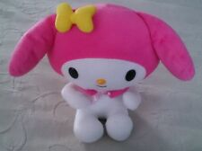 2007 Retired Cinnamoroll Sanrio Hello Kitty Plush Stuffed Animal Pink Hat Dog LG