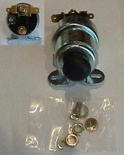 Solenoid with Rubber Push Button for VANDEN PLAS PRINCESS 4.0 litre DM4 1952-68