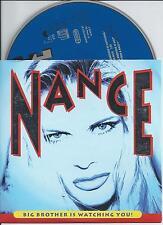 NANCE - Big brother is watching you! CD SINGLE 2TR CARDSLEEVE 1996 Eurodance