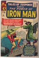 MARVEL Comics TALES OF SUSPENSE IRON MAN #54  MANDARIN VG+
