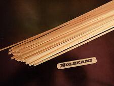 50 Holzleisten Kiefer  300mm x 1mm bis 5mm  x 0,8mm  L/B/H  Neu