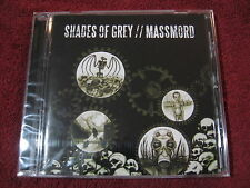 SHADES OF GREY / MASSMORD split CD After The Bombs crust Profane Existence