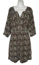 Anthropologie Fei M Medium Gran Sabana Dress Silk Blouson Printed
